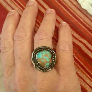 Jewelry - Beautiful Sterling Old Pawn Navajo Ring Size 7